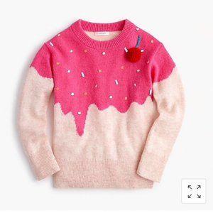 Crewcuts | Cupcake Sweater, Size 16 Girls